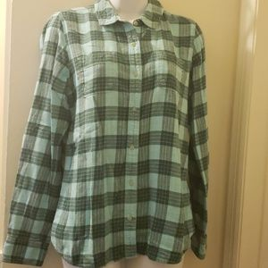 North face  casual button shirt
